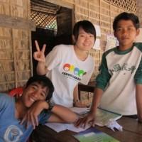 Crianças no Camboja